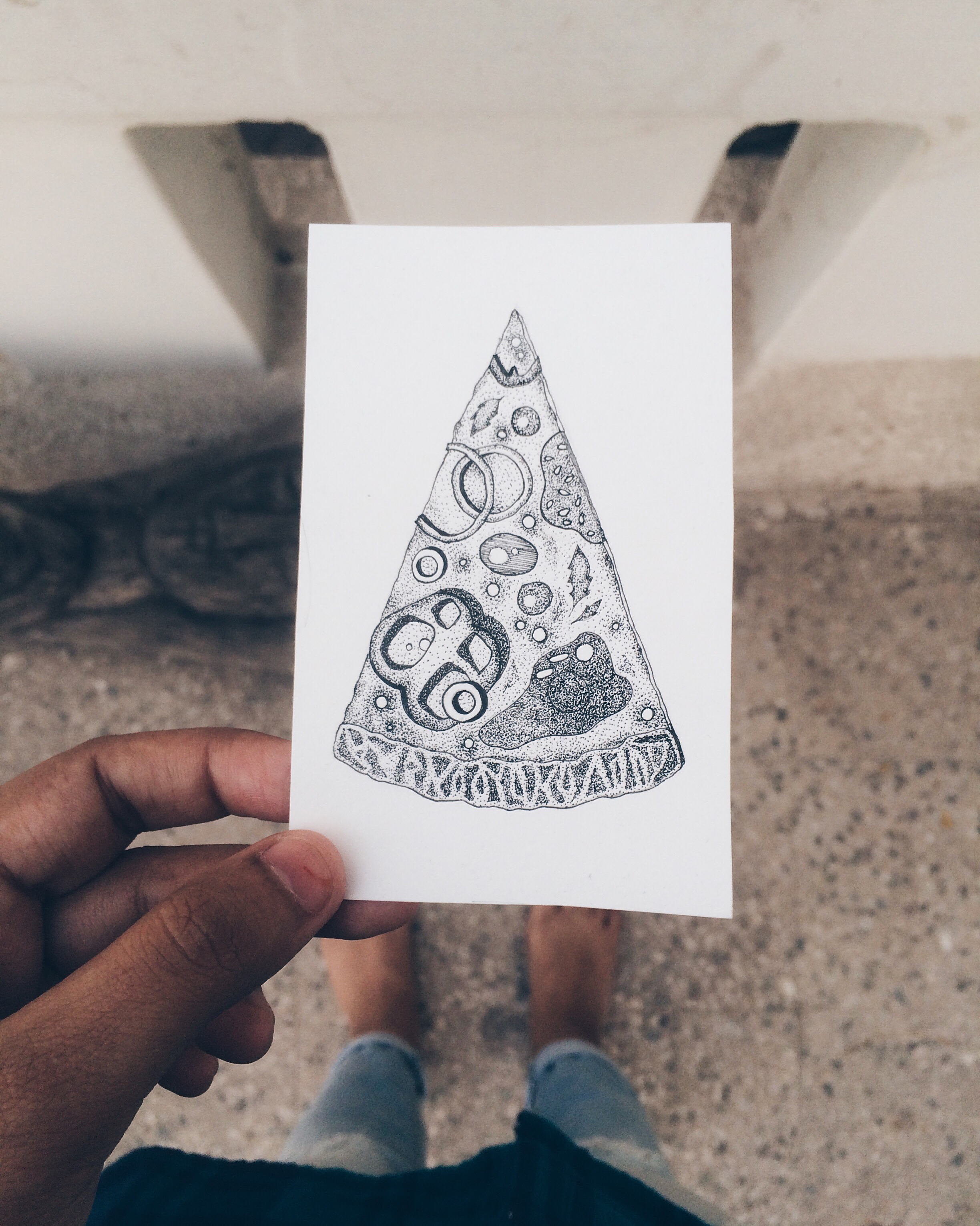 Food Inking Chronicles | Maitri Dalicha
