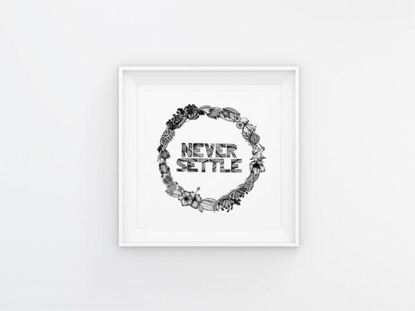 Never Settle | Maitri Dalicha