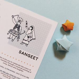 wedding invite design | Maitri Dalicha x Chaiwalli