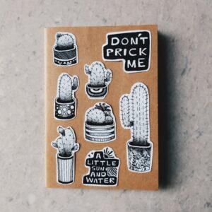 Dont Prick Me Sticker Set | Maitri Dalicha