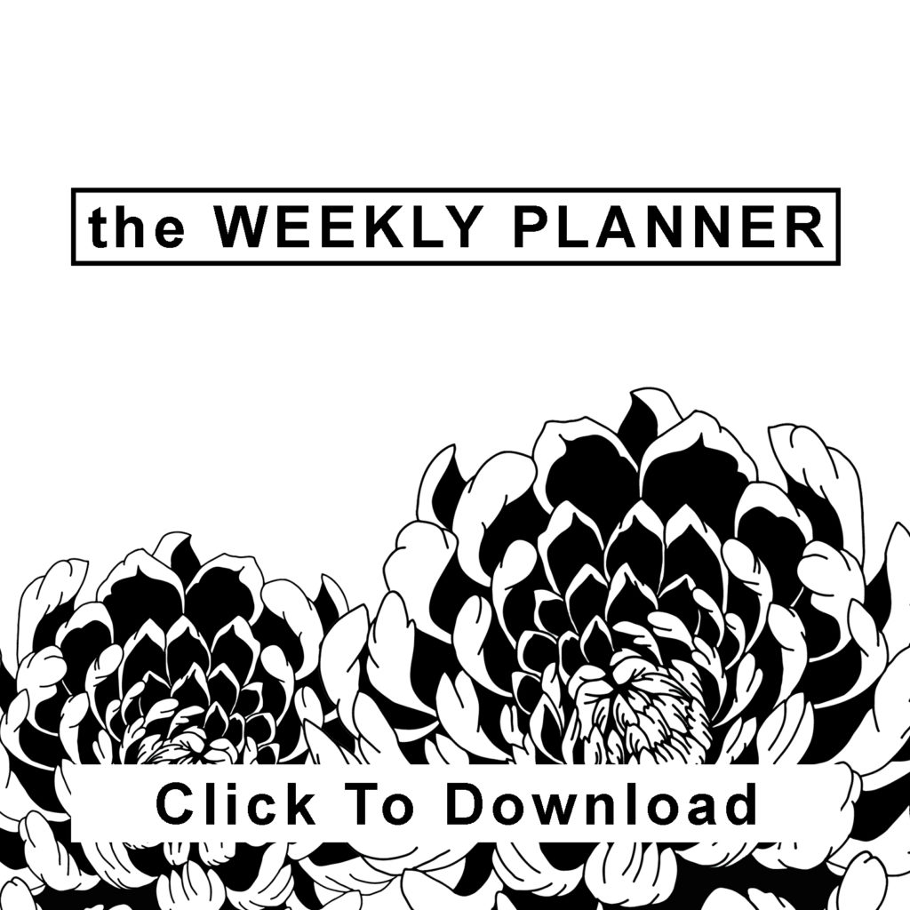 the Weekly Planner Icon | Maitri Dalicha