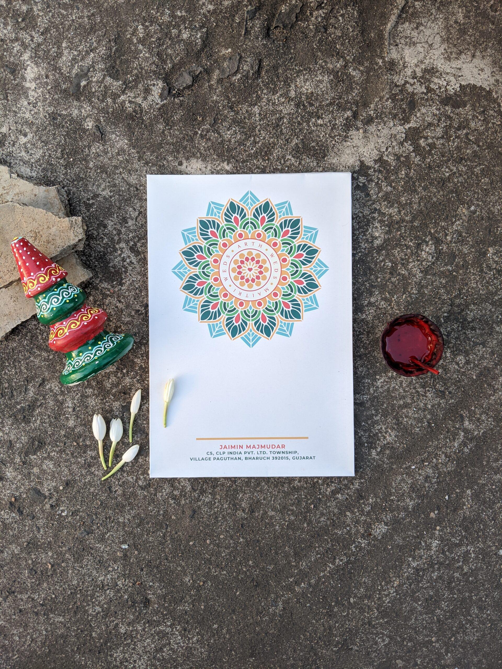 Wedding Card Design   Graphic Design