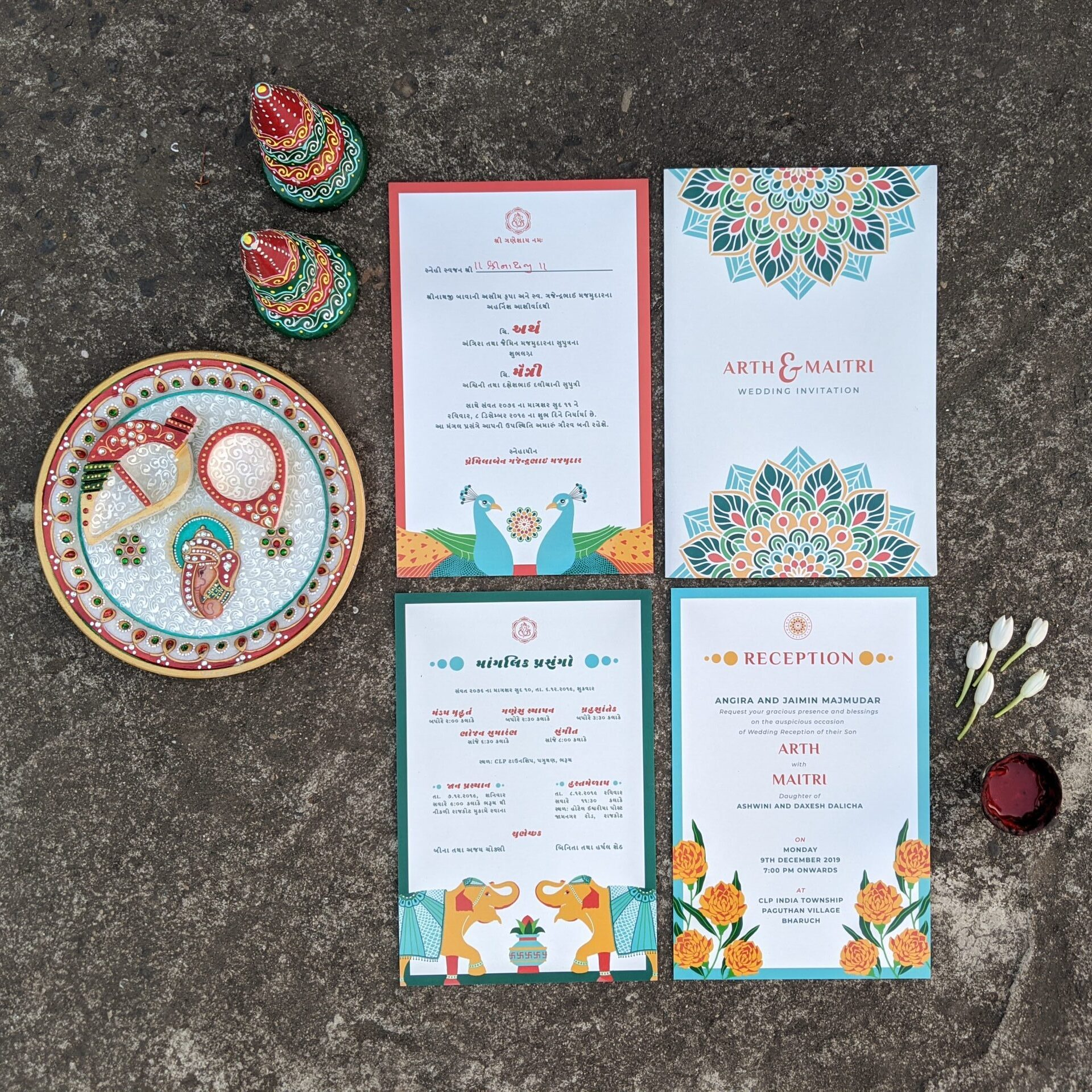Wedding Card Design | Graphic Design